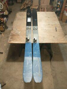 Black Diamond Boundary Pro107 skis. Dynafit bindings. 184. Pomoco Skins.