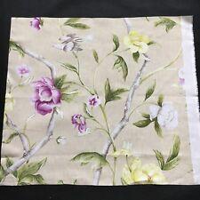 Zoffany Fabric Sample / Remnant FLOWERING TREE -  56cm x 60cm