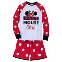 Disney Authentic Minnie Mouse Club Pajamas Set for Women size Small NWT