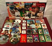Junk Drawer Lot of Collectibles, Ken Griffey Jr, Willie Mays, Misc #3/03/3P