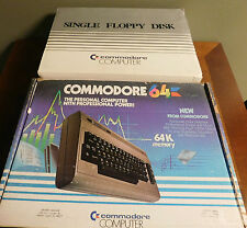 Vintage Commodore 64 Computer System & 1541 Floppy Disk Drive