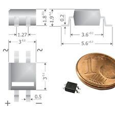 S454 - 50 unid. SMD puentes rectificadores rectificador 80v 0,5a micro-Dil mys80