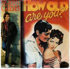disco 45 GIRI Robin GIBB HOW OLD ARE YOU? - I BELIEVE IN MIRACLES
