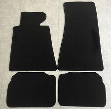 Autoteppiche Fußmatten für BMW E34 5er  1988 - 1995 schwarz 4teilig Neuware