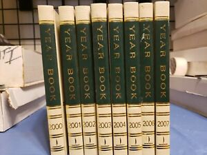 The World Book Encyclopedia The 2000s Year 2000 Thru 2007 Lot Of 8 Books