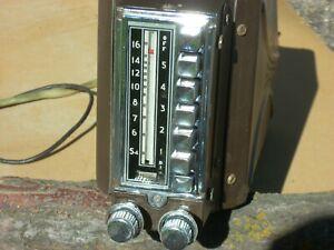 1946 1947 1948 Dodge Plymouth Chrysler DeSoto 6V radio MOPAR 802 repaired, works