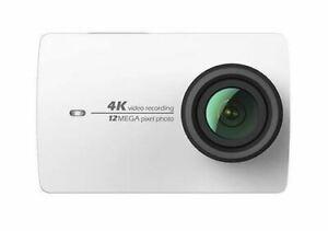 Xiaomi YI 4K Action-Kamera (gebündelt 3-Achsen Gimbal Stabilisator) weiß