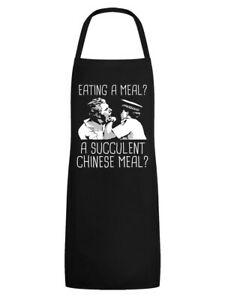 Apron Eating A Meal A Succulent Chinese Meal Black