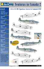 Venturas in Canada 2: RCAF EAC Squadrons – 1/48 scale Aviaeology Decals 'n Docs