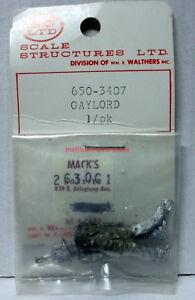 """SS Ltd~O-Scale/1:48 Figure Kit~650-3407~""""GAYLORD""""~White Metal~Walking"""
