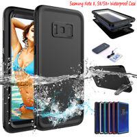 Samsung Galaxy S8+ Note 8 Waterproof Case 6.6ft Underwater Shockproof Dirtproof
