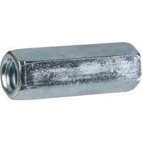 SUPPORTAGE - Raccord de jonction femelle/femelle - Diamètre 10 mm - Lg 30 mm
