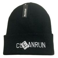 ONE SIZE *** *** BRAND NEW WITH TAGS BLACK /'PURE MAGIC/' NEWCASTLE BEANIE HAT