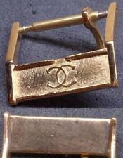 Original Chanel Buckle Fibbia 14mm inner Rose Gold Plated Excellent ! L@@K ! !