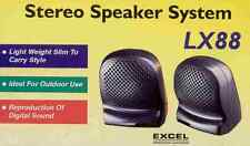 Excel mini Stereo Speaker Lx88 altavoces Portátiles Estereo- Jack 3.5mm