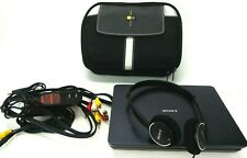 """New listing Sony Dvp-Fx930 9"""" Portable Dvd Cd Player W/ Adapter Rechargeable Battery Case"""