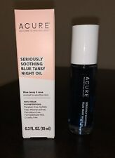 NEW Acure Seriously Soothing Blue Tansy Night Oil, 0.3 fl oz