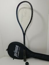 Prince Premier Extender Squash Racquet Purple With Case 12 Main 17 Cross