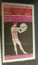 Somali Coast. Scott's # C35. Mnh w/ crease. Tokyo Olympics. sal's stamp store.
