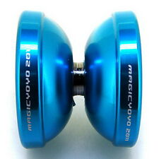Magic YoYo T6 Super Bow Blue Aluminum Professional Yo-Yo + 5 Strings