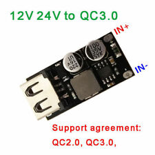 DC-DC Buck Chargement USB Module 6-32 V 12 V 24 V QC3.0 Rapide Charge Pour iPhone PCF L4