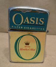 Oasis Cigarette Lighter Continental Made In Japan Filtered Cigarettes