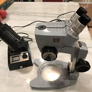 AO Spencer American Optical Cycloptic Stereo Microscope