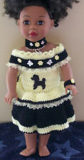 "HANDMADE CROCHET CLOTHING & ACCESSORIES FOR 18"" MY LIIFE & Our Generation DOLLS"