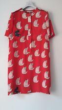 Victoria, Victoria Beckham cat print dress