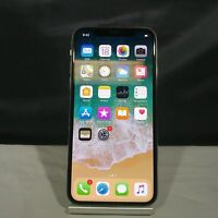 Apple iPhone X 256GB Silver Unlocked Excellent Condition
