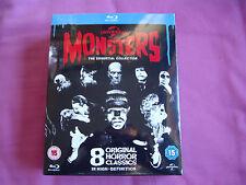 Coleccion Classic Monsters Universal - Blu-Ray -  9 Peliculas Castellano