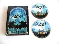 Aion, Disc 1 and Disc 2, PC DVD Online Video Game, Rated T, Windows 1213