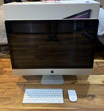 Apple IMAC 27 Inch (mid 2011) 3.4ghz i7, 16GB Ram, 500GB SSD. Keyboard  & Mouse