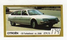 figurina - BAGGIOLI GOLDEN CAR NUMERO 29 CITROEN CX TURBODIESEL CC. 2500