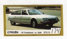 figurina - BAGGIOLI GOLDEN CAR NUMERO 29 CITROEN CX TURBODIESEL CC. 2500