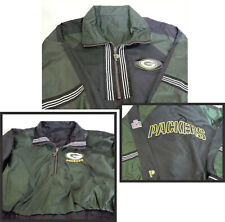 Green Bay Packer Youth Pro Player NFL Experience Reversible pullover windbreaker