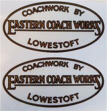 Eastern Coach Works Lowestoft Replica Stickers