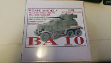 Ba 10 Wespe Resin Models 1:48 Wes 48006