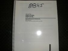 Okuma Osp-E100L & E10L Control Maintenance Manual