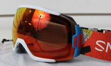 New 2018 Smith Vice Ski Snowboard Goggles Burnside ChromaPop Everyday Red Mirror