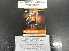 2016/17 CRICKET TAP N PLAY GOLD CARD NO.164 NICOLE BOLTON PERTH SCORCHERS