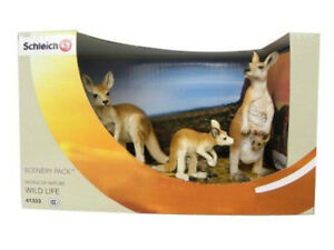 NEW SCHLEICH 41333 Kangaroo Scenery Pack / Contents - 14603 14607 14608 RETIRED