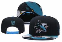 San Jose Sharks NHL Hockey Embroidered Hat Snapback Adjustable Cap Adult