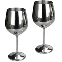 Pack of 2 Final Touch 100/% Lead-free Crystal White Wine Glasses Goblets Made with DuraSHIELD Titanium Reinforced for Increased Durability Tall 24cm 440 ml
