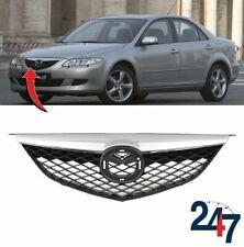 Parachoques Delantero Superior Center Rejilla Con Moldura Compatible Con Mazda 6