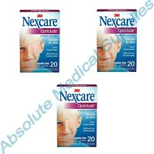 """*60-Patches* 3M Nexcare Opticlude Orthoptic Eye Patch 3.18"""" x 2.18"""" Regular 1539"""