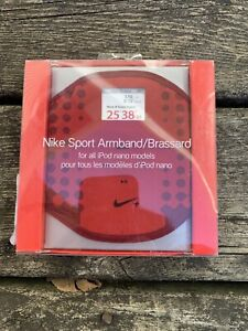 Nike Sport Armband Brassard For ALL Apple iPod Nano Models Red