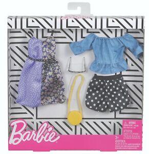 MATTEL® FKT27, FXJ68 Barbie Fashions 2er-Pack Pünktchen Moden, NEU & OVP