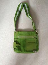 BALLY Messenger bag30cmx26cm verde, tasche interne, tasche esterne