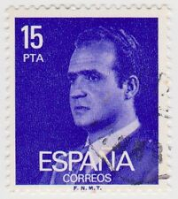 (SPB194) 1976 SPAIN 15p violet king Carlos ow2404